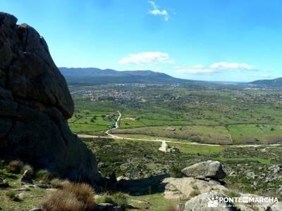 Sierra de los Porrones - Ruta de las Cabras; rutas de montaña por madrid senderismo principiantes m